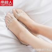 船襪女淺口隱形夏季薄款純棉襪底襪子硅膠防滑不掉跟夏天蕾絲短襪 (橙子精品)