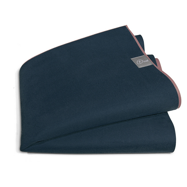 Taimat 天然橡膠瑜珈墊 183cm 絲路系列 - 英格藍
