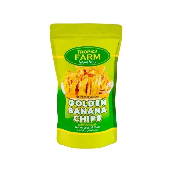 菲律賓 TROPICS FARM 香蕉脆片(350g)【小三美日】團購 / 零嘴