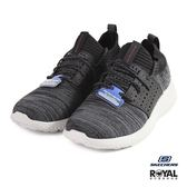 Skechers 新竹皇家 Knocto 黑色 織布 套入式 休閒運動鞋 男款 NO.B0152