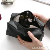 BLANC BLACK韓國大容量便攜防水化妝包女旅行洗漱包化妝品收納包 『CR水晶鞋坊』