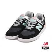 New Balance 新竹皇家 574 黑色 麂皮 網布 拼接 休閒鞋 男女款 NO.B0378