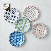 【有種創意】日本美濃燒 - 絢麗粉彩餐盤組 (5件式)