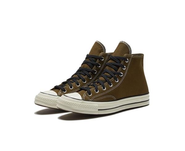 CONVERSE-Chuck 70 男女款墨綠高筒休閒鞋-NO.165953C