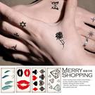 紋身貼紙   防水仿真刺青貼紙 身體彩繪圖案 男女通用貼紙 【TT001】