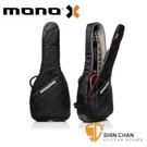 MONO M80 新款木吉他袋 Vertigo黑色-民謠吉他袋/軍事化防震防潑水 【M80-VAD-BLK】