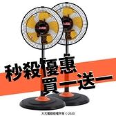 買一送一【上元】12吋外旋循環風扇 SY-1207 (一箱2入)