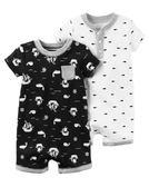 【美國Carter's】短袖連身衣2件組- 小伙伴系列 #126G533