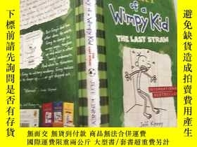 二手書博民逛書店Diary罕見of a Wimpy Kid:The Last Straw 懦弱孩子的日記:最後一 根稻草.Y2