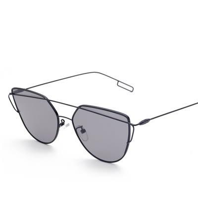 太陽眼鏡-時尚雙樑獨特造型男女偏光墨鏡6色73en58[巴黎精品]