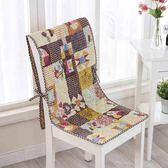 椅子坐墊 幕知田園餐桌椅墊套裝辦公室椅子連體墊坐墊靠墊一體連體椅墊【小天使】