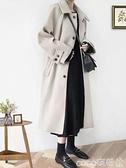 秋冬毛呢外套女2021年新款赫本風大衣氣質冬季加厚中長款溫柔呢子 coco