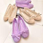 豆豆鞋女平底大蕾絲鞋黑色工作鞋開車芭蕾舞鞋布鞋孕婦單鞋 愛麗絲精品