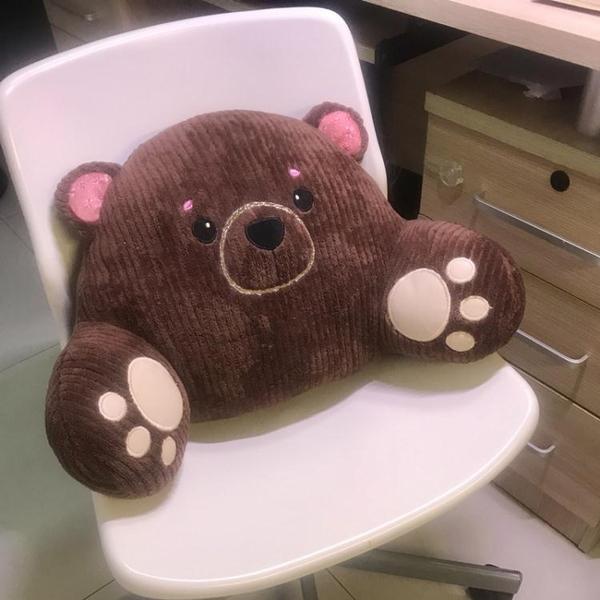 床靠枕 靠墊辦公室腰靠沙發抱枕汽車腰枕腰墊座椅椅子護腰靠枕靠背床頭ATF 英賽爾