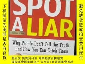 二手書博民逛書店How罕見to Spot a Liar, Revised Edi