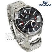 EDIFICE EFV-C100D-1A 公司貨 3D立體時刻多層次賽車計時男錶 防水手錶 黑面 EFV-C100D-1AVDF CASIO卡西歐