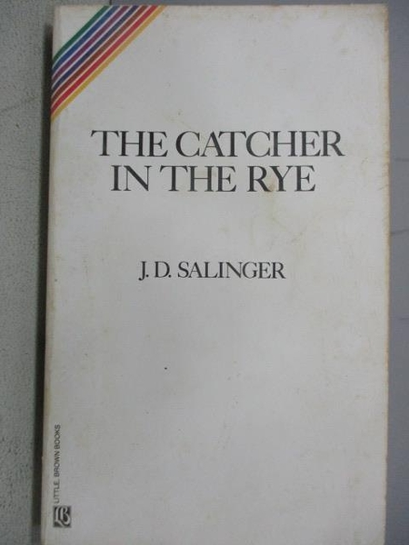 【書寶二手書T8/原文小說_FQC】The Catcher in The Rye_J.D.Salinger