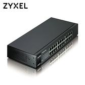 ZyXEL 合勤 ES1100-24E 24埠無網管乙太網路交換器