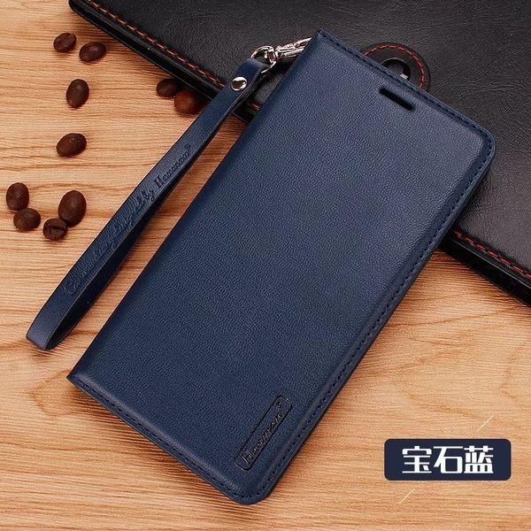 NOKIA 3 NOKIA 8 簡約珠光 手機皮套 插卡可立式手機套 隱藏磁扣 手提式 吊繩 軟內殼
