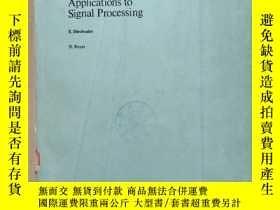 二手書博民逛書店elastic罕見waves in solids applications to signal processin