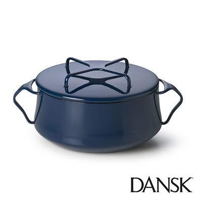 里和Riho Dansk Kobenstyle 雙耳砂鍋 4QT(深藍)