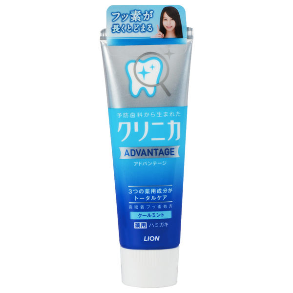 LION日本獅王 固力寧佳全效淨護牙膏130g-清涼薄荷【台安藥妝】