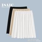 夏季防透內襯裙白色安全裙內搭打底裙子中長款防走光莫代爾半身裙『快速出貨』