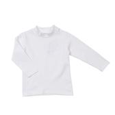 【愛的世界】彈性半高領保暖長袖上衣/8歲-台灣製- ★秋冬上著