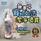 【富樂屋】無患子寵物乾洗潔淨噴霧 250ML