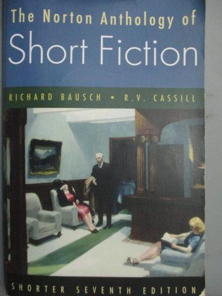 【書寶二手書T7/原文小說_WDF】The Norton Anthology of Short Fiction_Baus