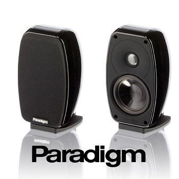 【名展音響】加拿大 Paradigm Cinema™ 100 2.0 音響組合 黑色