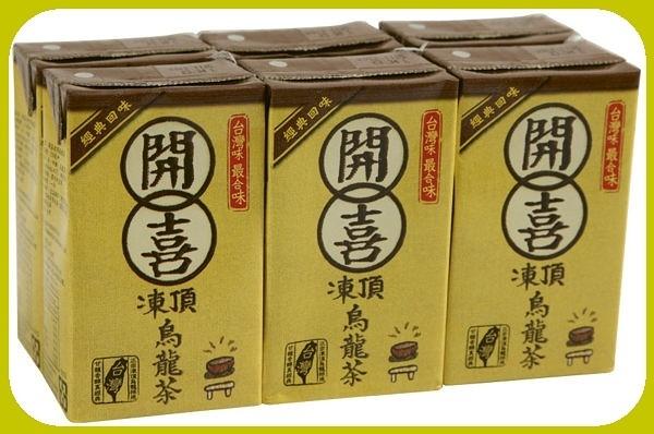 開喜凍頂烏龍茶250ml(6瓶組)【合迷雅好物超級商城】