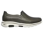 Skechers CALI GEAR GOWALK 5 [243000OLV] 男鞋 運動 休閒 涼鞋 健走 防水 棕灰