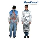 【醫碩科技】藍鷹牌 AL-6 防火長袍 耐熱防火/防熱水噴濺 適合高溫熔爐作業
