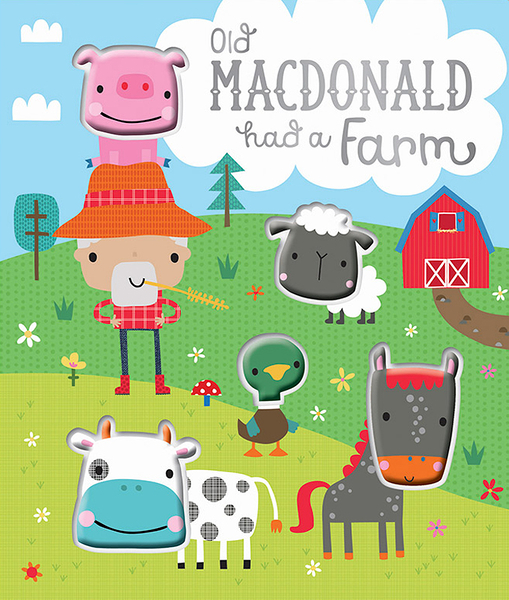 Old MacDonald Had A Farm 王老先生有塊地趣味數數書