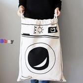 [Bbay] 棉布袋 拉繩袋 收納袋 整理袋 束口袋
