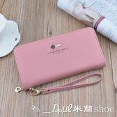 手拿包 長夾 錢包 長款拉鏈多功能手包零錢包三折錢夾手機包手拿包 ✎﹏₯㎕ 米蘭shoe