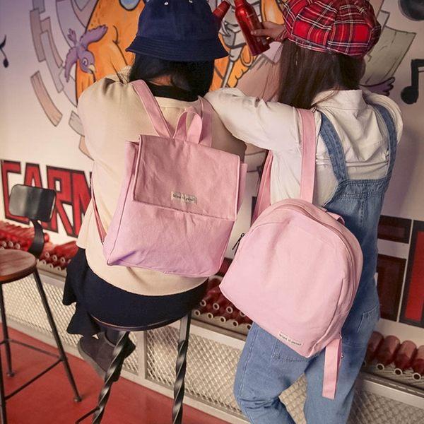 (全館一件免運)DE shop - 原宿女包自制日系背包小清學生迷你雙肩包 【PP - 216】