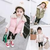 女童秋冬保暖背心外套 正韓女寶寶馬甲 兒童外套