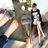 毛毛鞋女外穿平底單鞋淺口豆豆鞋女加絨孕婦棉瓢鞋大碼  傑克型男館