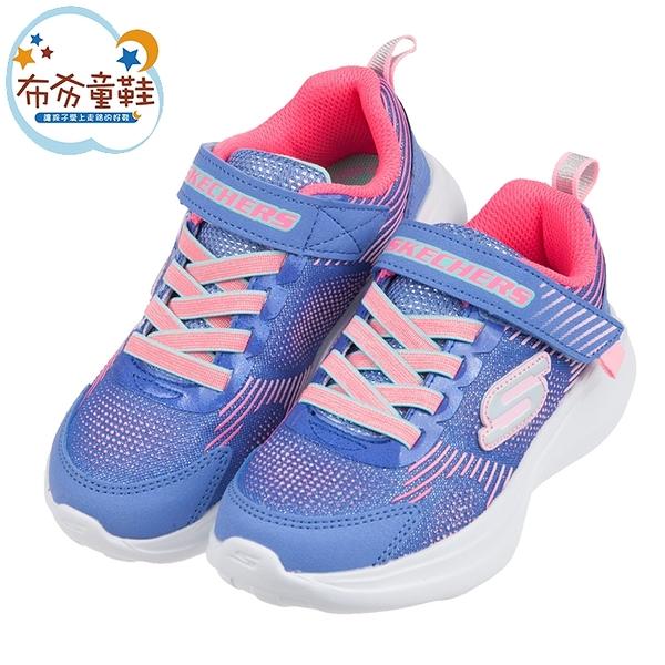 《布布童鞋》SKECHERS_GO_RUN_FAST亮點紫藍兒童運動鞋(17~23公分) [ N0X403F ]