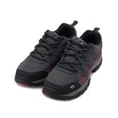 GOODYEAR 山行者 戶外健行鞋 灰紅 GAMO93518 男鞋