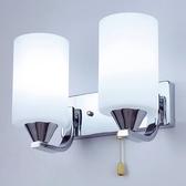 壁燈床頭臥室現代簡約創意溫馨樓梯過道陽臺墻壁酒店LED單雙頭燈 酷男精品館