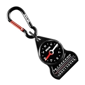 SILVA Carabiner 10 Compass 溫度計指北針 瑞典森林指北針 附掛勾 37617 戶外.露營.登山.旅遊.自助旅行