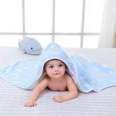 新生兒抱被純棉紗布寶寶春秋夏季裹布繈褓嬰兒被子包巾抱毯包被 英雄聯盟