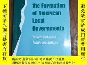 二手書博民逛書店The罕見Formation of American Local