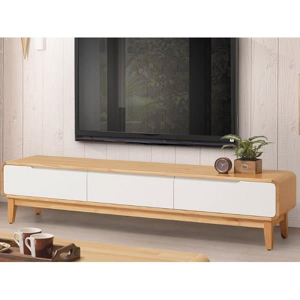 電視櫃 TV-341-4 艾索斯6尺實木長櫃【大眾家居舘】