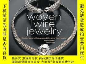 二手書博民逛書店Woven罕見Wire JewelryY255562 Linda Chandler Interweave Pr