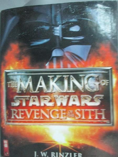 【書寶二手書T5/影視_QBB】The Making of Star Wars: Revenge of the Sith