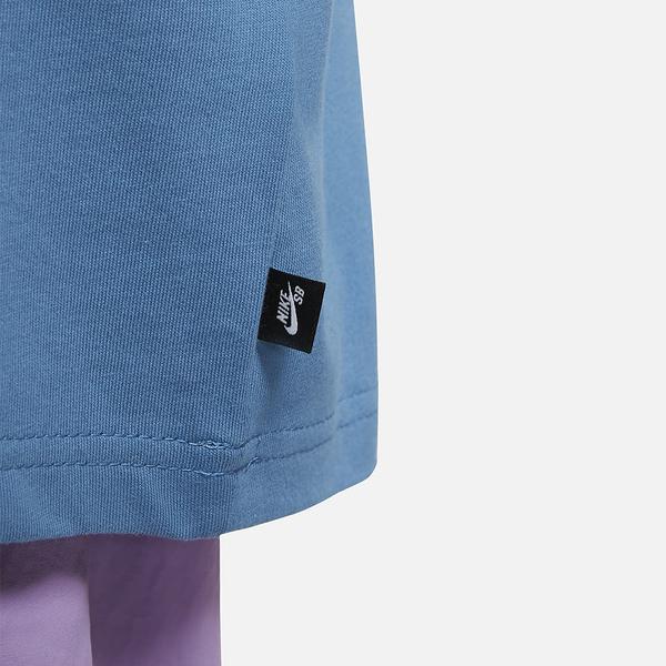 NIKE SB 男裝 短袖 休閒 棉質 章魚 Dunk 藍【運動世界】DJ1227-469